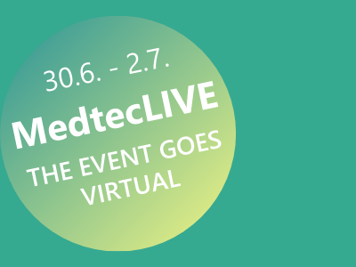 MedtecLIVE 2020 - THE EVENT GOES VIRTUAL